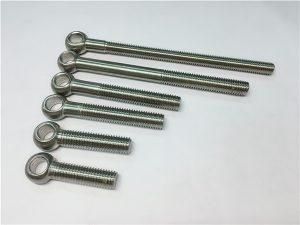 NO.38-904L 1.4539 UNS N08904 Øyebolt, tilpassede bolter for ventilmontering