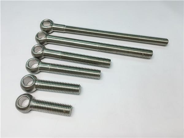 904l / 1.4539 / uns n08904 øyenbolt, tilpassede bolter for ventilmontering