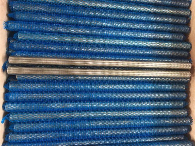 nikkellegering inconel601 / 2.4851 trapesformet gjengestang nye varer