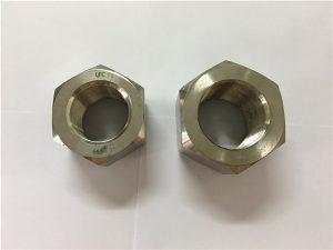 No.111-Produksjon nikkellegering A453 660 1.4980 sekskantmuttere