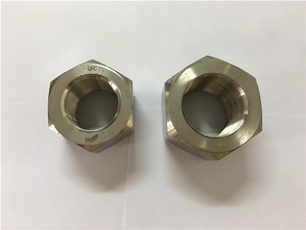 produser nikkellegering a453 660 1,4980 sekskantnøtter