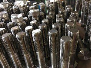 No.12-sekskantede bolter ISO4014 halvtråd A193 B8, B8M, B8T, B8C SS feste