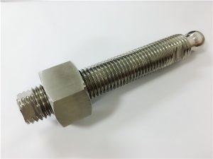No.22-Custom CNC-fresing av kuleloddsbolt i rustfritt stål