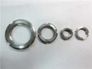 No.33-Kina leverandør tilpasset rustfritt stål rund mutter