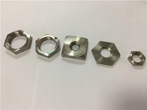 No.34-Engros-pris firkantet hjulmutter i rustfritt stål