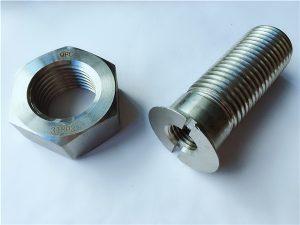 No.55-Høy kvalitet duplex 2205 rustfrie stålbolter og muttere