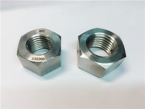 No.76 Duplex 2205 F53 1.4410 S32750 rustfritt stål festemidler tung sekskantmutter