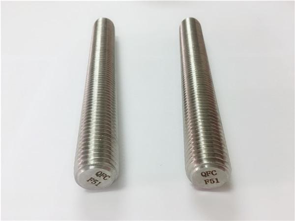 duplex2205 / s32205 festemidler i rustfritt stål din975 / din976 gjengestenger f51