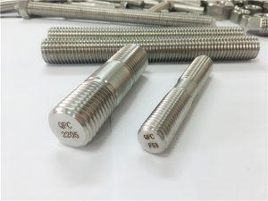 Nr. 80-dupleks 2205 S32205 2507 S32750 1,4410 maskinvare festet av høy kvalitet tre gjenget stang anker
