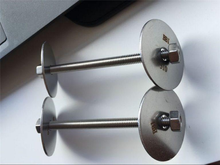 ss310 / ss310s astm f593 feste, rustfrie stålbolter, muttere og skiver