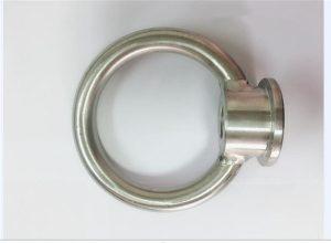 Rustfritt stål løftende øyemutter
