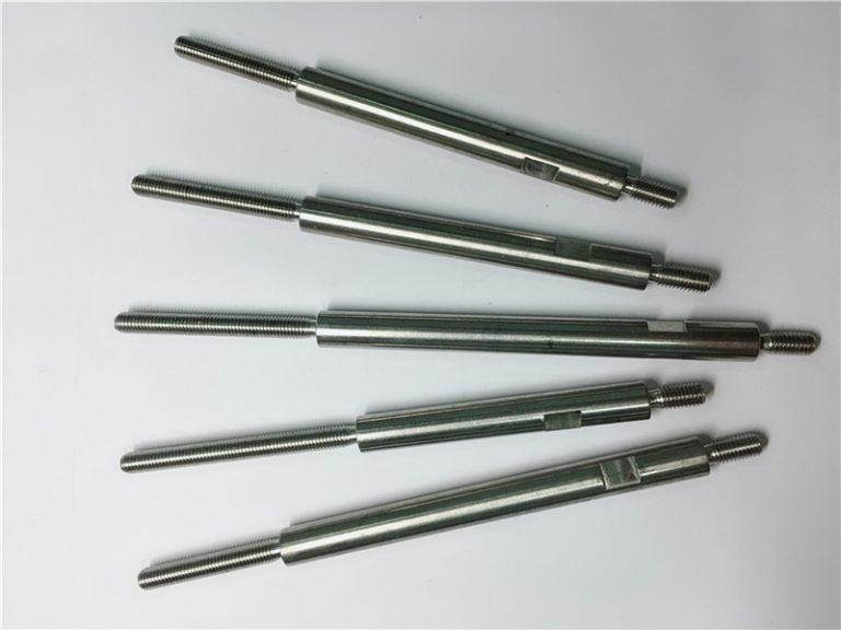 cnc presisjonsbearbeiding av gjengede rustfrie stålfester