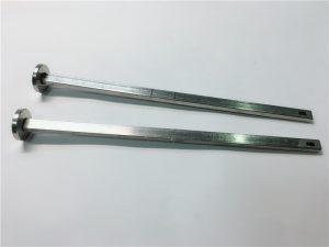 leverandør av maskinvare festemidler 316 rustfritt stål flat head square din603 m4 vogn bolt