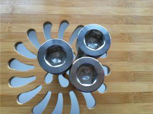 høykvalitets ASEM hex socket titanium gr2 skrue / bolt / mutter / skive /