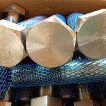 store forsyningsmekaniske festeanordninger med høy sekvens tung sekskantebolt og mutter